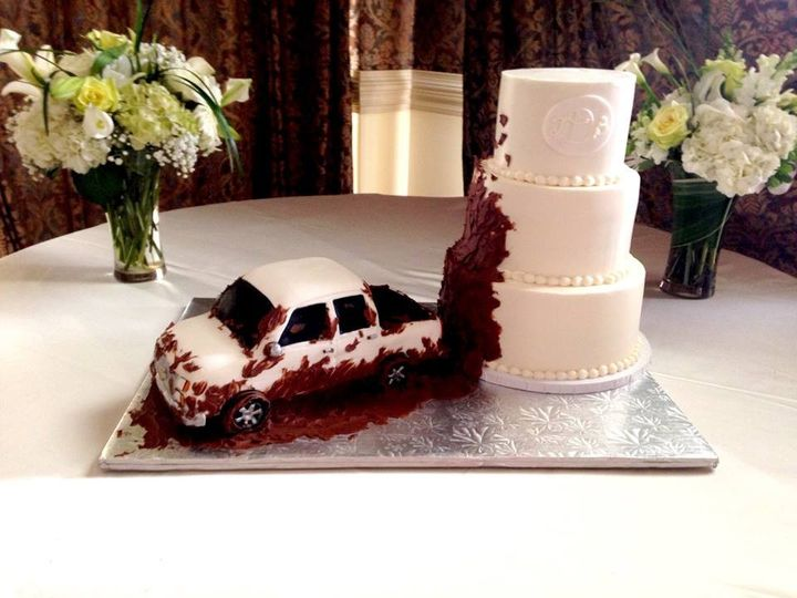 Tmx 1415160478110 1535526101545664284705243660324739668859004n Cary, North Carolina wedding cake