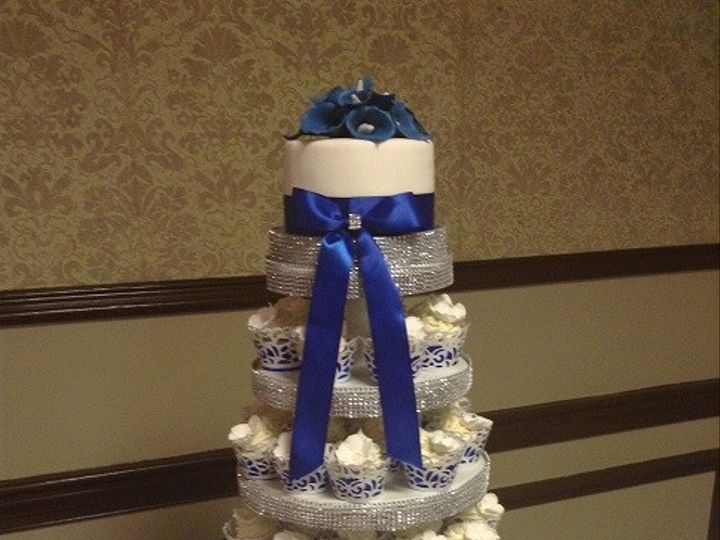 Tmx 1417911059340 D7320a232f018cf9b07b15ae28aea339 1 Cary, North Carolina wedding cake