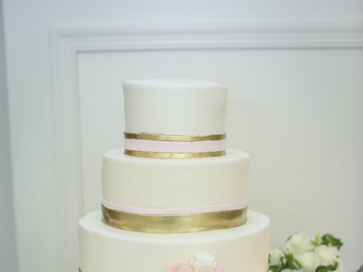 Tmx 1422504993642 Wedding 0528 Cary, North Carolina wedding cake