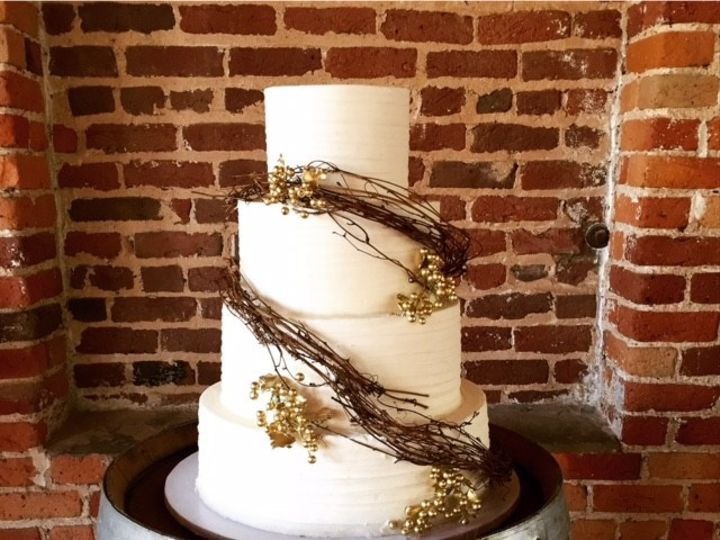 Tmx 1446772996521 Gold Grapes Cary, North Carolina wedding cake