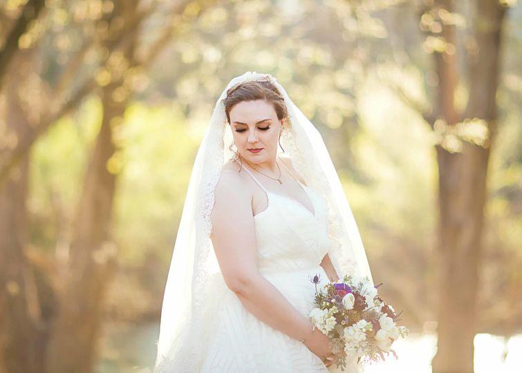Bride under the sun