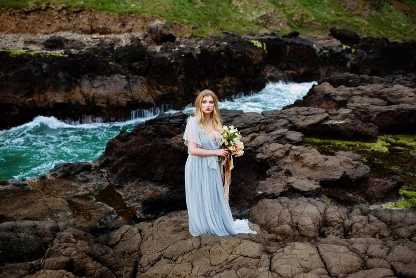 Oregon Coast Elopement Wedding