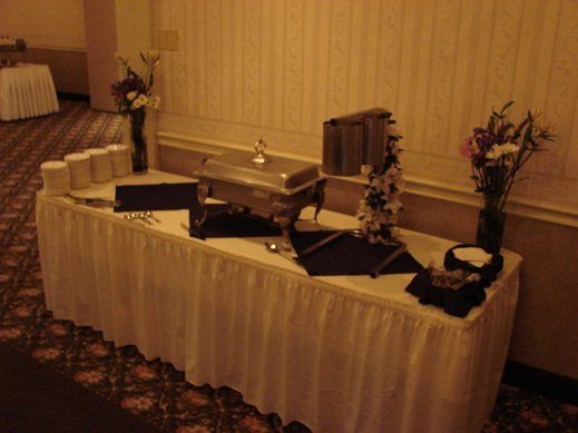 Appetizer Table in Grand Rooms