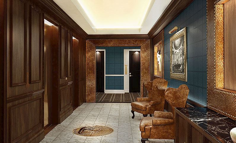Luxurious furnishing