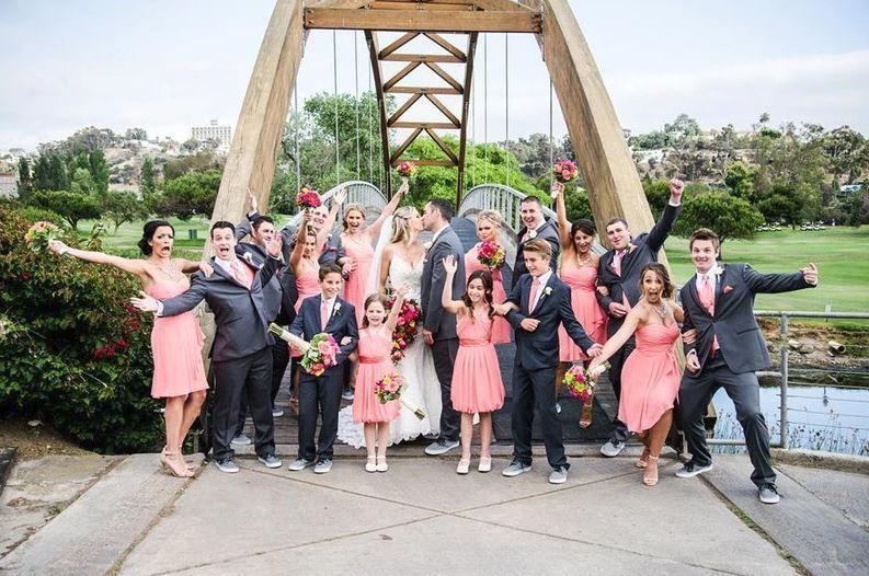 Fun bridal photo