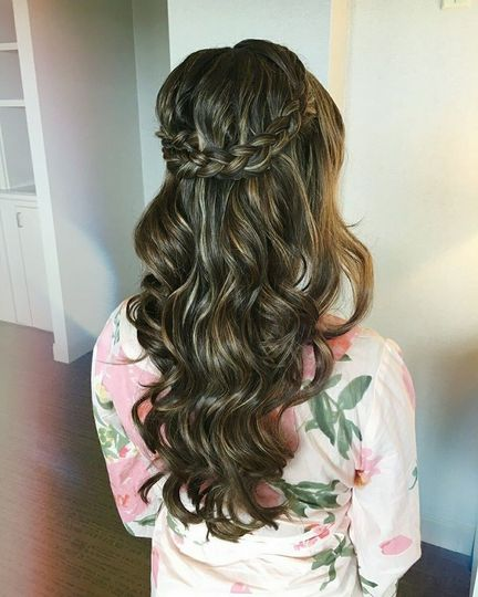 Beach waves and braided half do