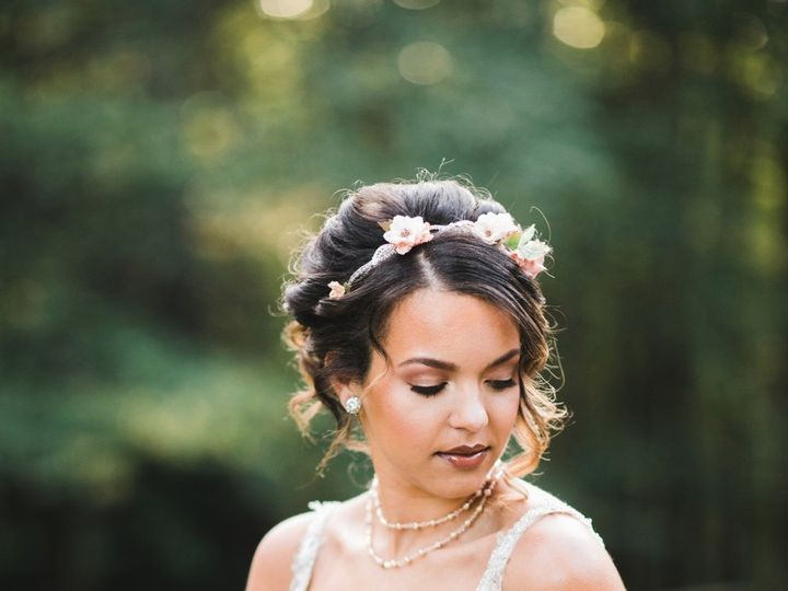 Tmx 1511661321093 529731gorgeous Earthy Glam Wedding Ideas Laurel wedding beauty
