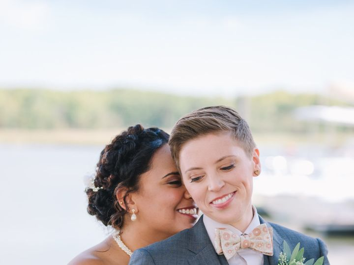 Tmx 1511661477520 Eastern Shore Md Waterfront Lesbian Wedding Nicole Laurel wedding beauty