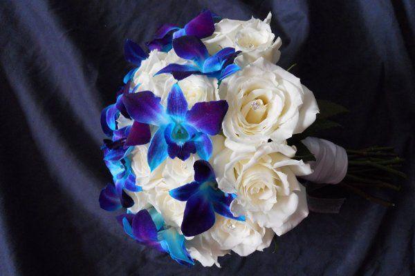 WhiteroseorchidBouquet