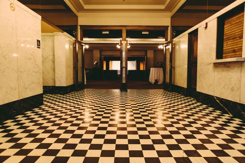 Historic lobby.