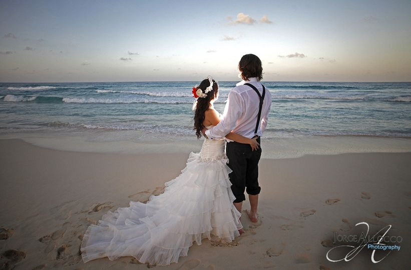 Wedding photography at Hard Rock Hotel Punta Cana Dominican Republic.