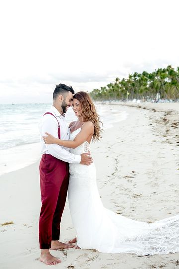 Wedding at Kukua Punta cana