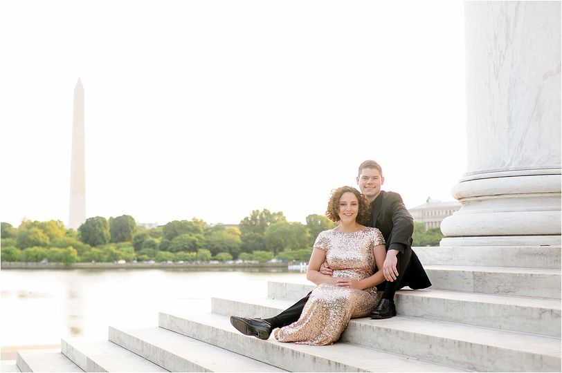 classic washington dc engagement session at the je