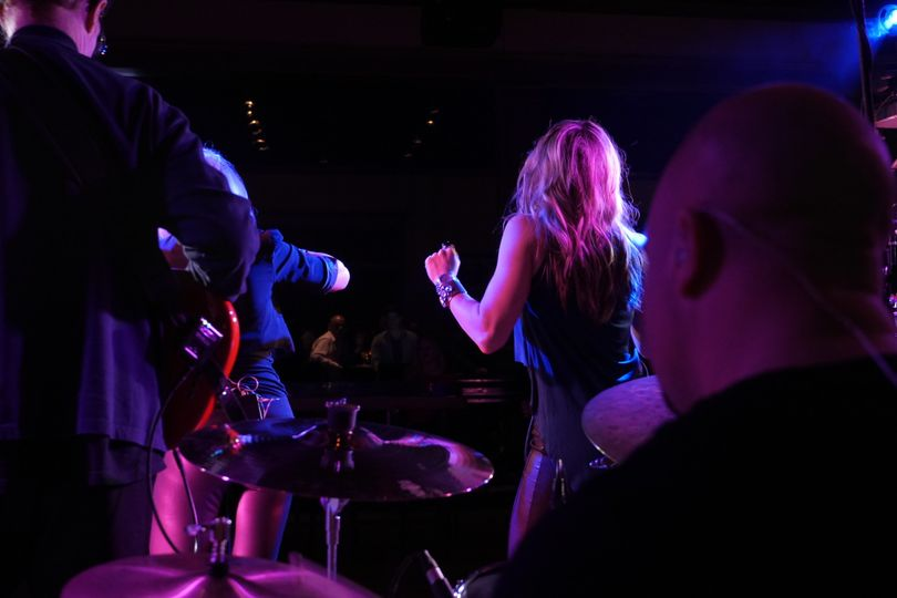 The Special Edition Band in action/club performance
