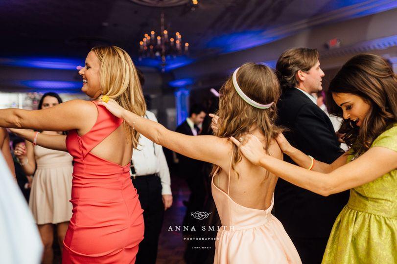Conga line/wedding event