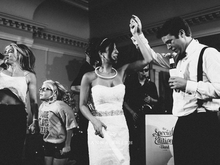 Tmx 1528377356 625394c44ca61aa5 1440785373058 Couple On Stage Dallas, Texas wedding band