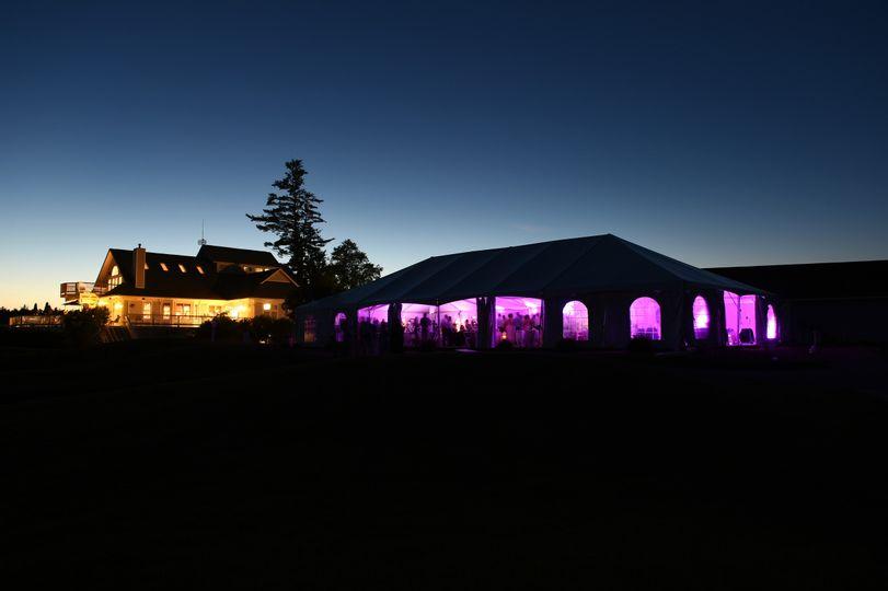 Exterior view of the Stonebridge Country Club