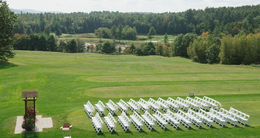 Ceremony Aerial View