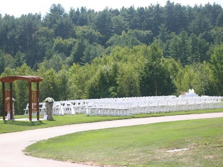 Tmx 1495050181001 Ceremony White Chairs Goffstown, NH wedding venue