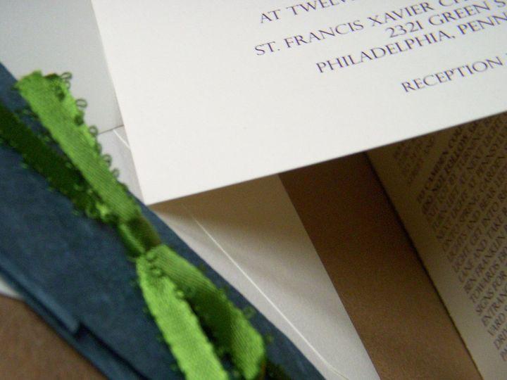 Tmx 1342534282438 Kb4 Haddonfield wedding invitation