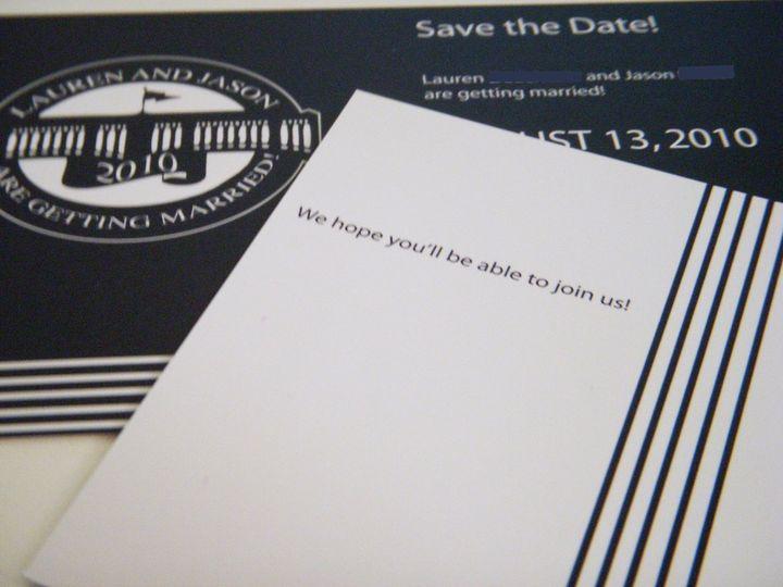Tmx 1342534400516 Lj10 Haddonfield wedding invitation
