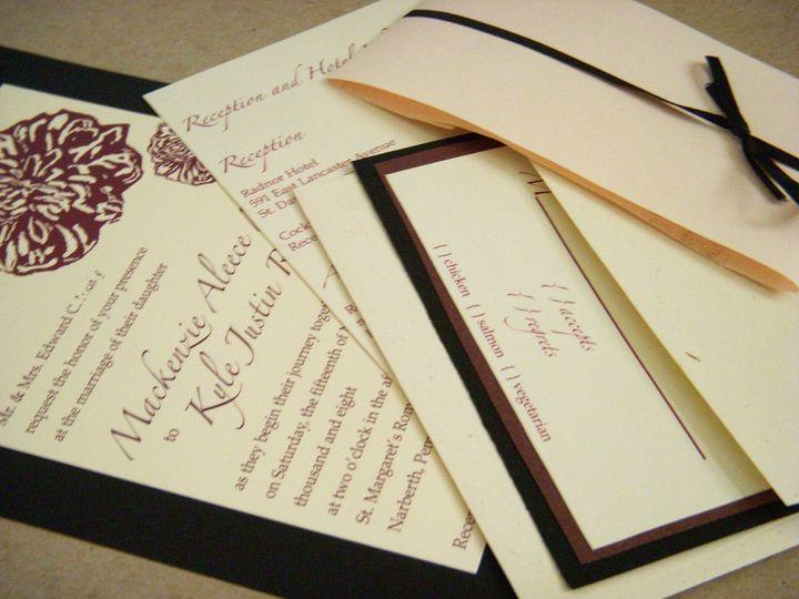 Tmx 1342534461007 Mk3 Haddonfield wedding invitation