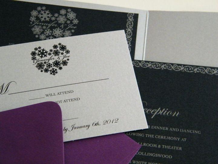 Tmx 1342534523110 DSCF0977 Haddonfield wedding invitation