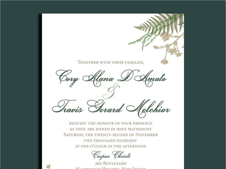Tmx 1389567074011 1 1 Red Bank wedding invitation
