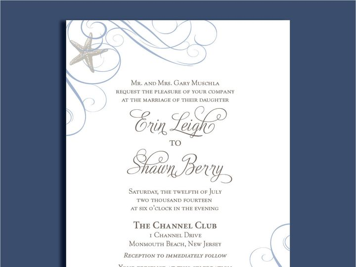 Tmx 1389567084083 1 1 Red Bank wedding invitation