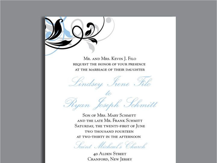 Tmx 1389567163547 1 13 Red Bank wedding invitation