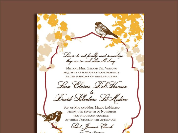 Tmx 1389567169609 1 13 Red Bank wedding invitation