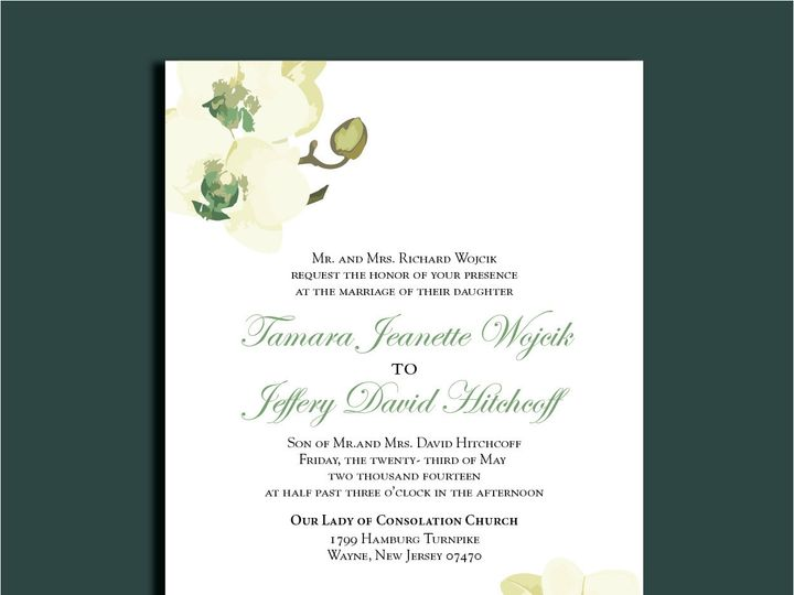 Tmx 1389567205761 1 14 Red Bank wedding invitation