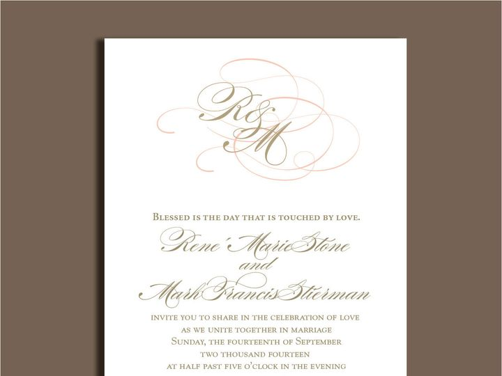 Tmx 1389567210762 1 14 Red Bank wedding invitation