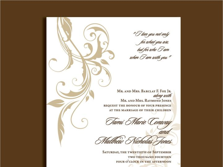 Tmx 1389567214890 1 14 Red Bank wedding invitation