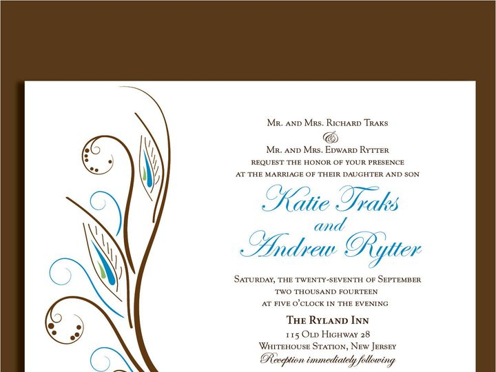 Tmx 1389567222178 1 156 Red Bank wedding invitation