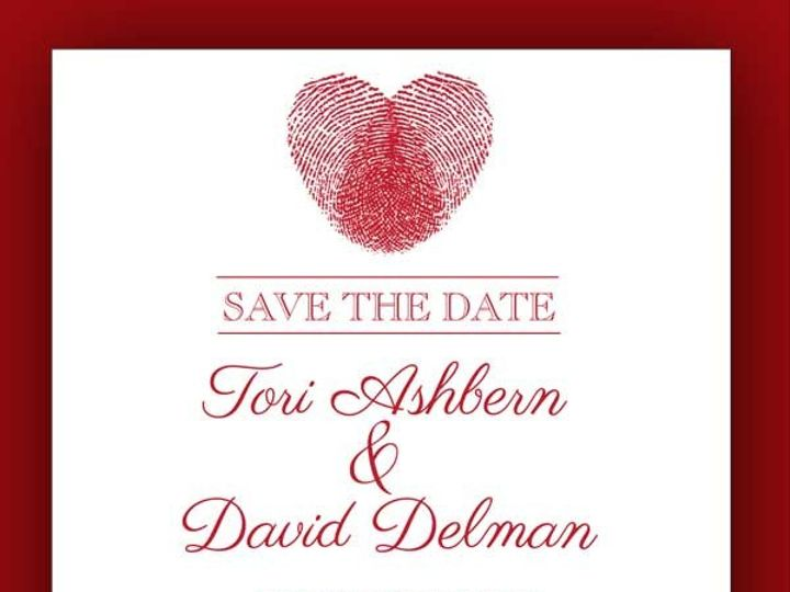 Tmx 1389567770593 3 Red Bank wedding invitation