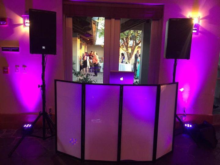Wedding DJ station