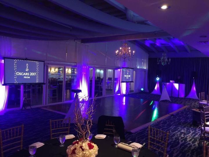 Prom Event Miami Beach-Audio visual rental -uplighting rentals 2018