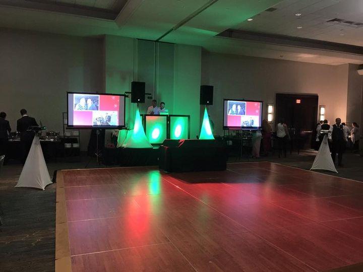 Tmx 1453169352381 Ultimate Dj Setup 5 Facade  Spandex  Plus Screens  Miami wedding dj