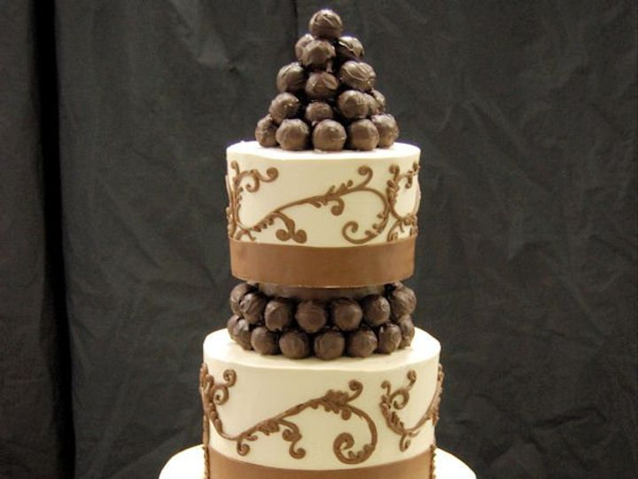 Tmx 1264617018953 Chocolatetrufflecake Paoli wedding cake
