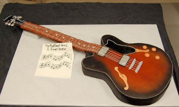 Tmx 1315409345104 Guitar Paoli wedding cake