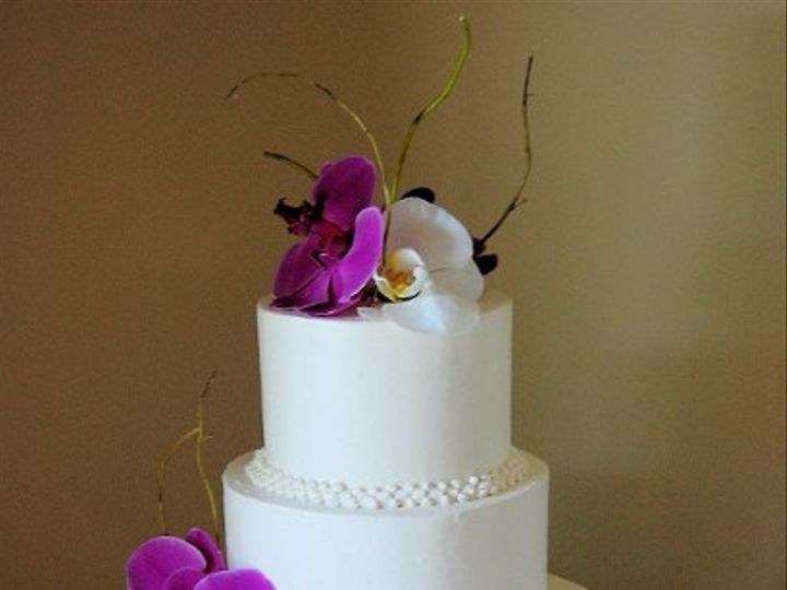 Tmx 1315410162779 Orchid Paoli wedding cake