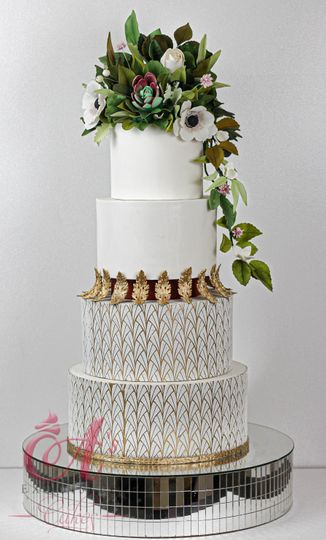 Goddess Wedding Cake