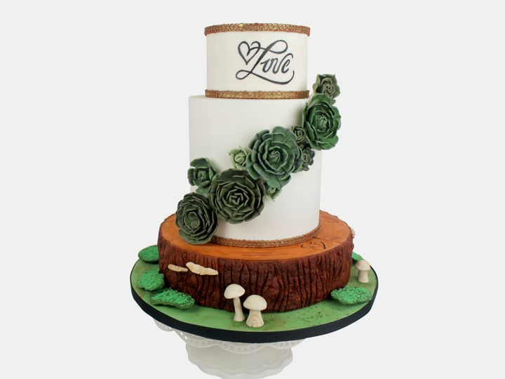 Tmx 1483068528317 Img9187 Brooklyn, New York wedding cake