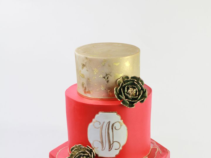 Tmx 1518648251 Ca4ab85fedac7682 1518648248 03cb16f656c204b2 1518648246571 1 6B129599 F0D7 405E Brooklyn, New York wedding cake