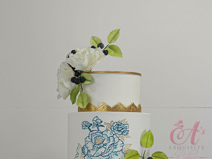 Tmx Img 8351 51 609482 1571619533 Brooklyn, New York wedding cake