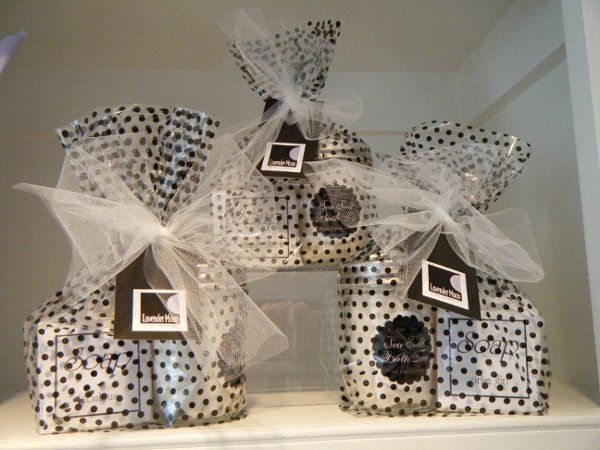 Our Bath Tea and soap gift bags