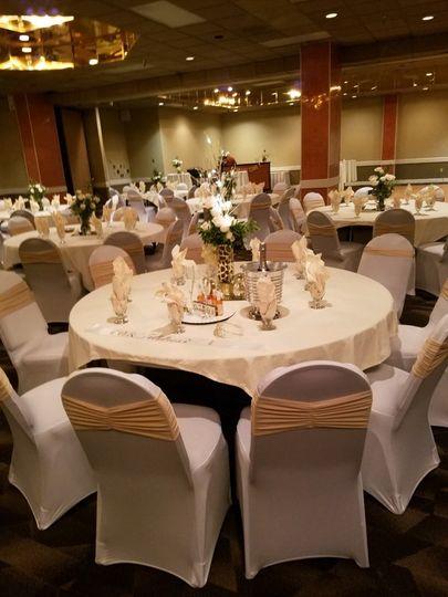 Wedding Indoor reception