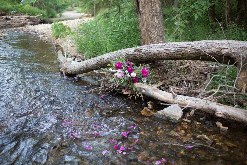 Lovely creek runs throughout