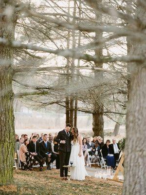 Pines ceremony site